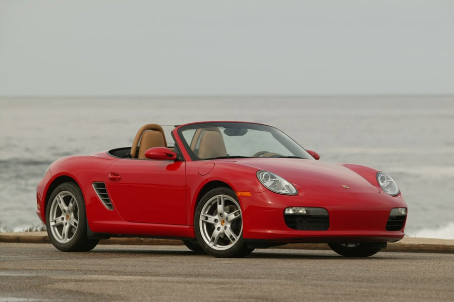 Porsche Boxster II (987) Restyling 1 2006 - 2009 Roadster #6