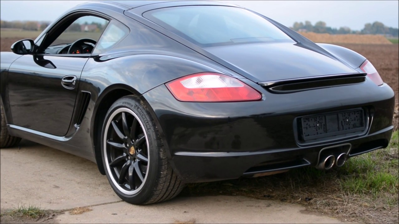 Porsche Cayman I (987) Restyling 2009 - 2013 Coupe #8