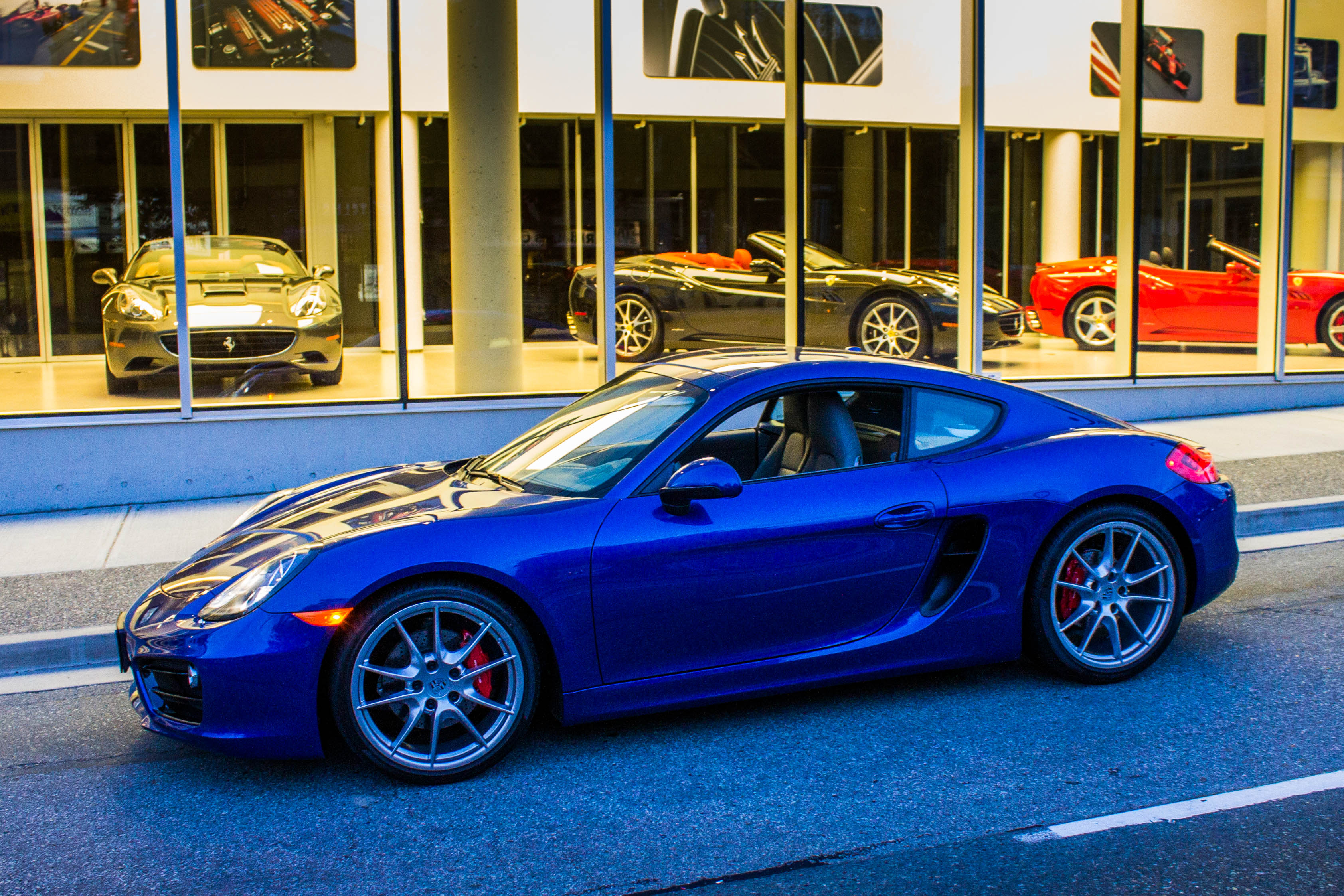 Porsche Cayman I (987) Restyling 2009 - 2013 Coupe #3