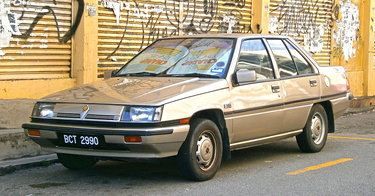 Proton Saga I 1985 - 2008 Hatchback 5 door #1