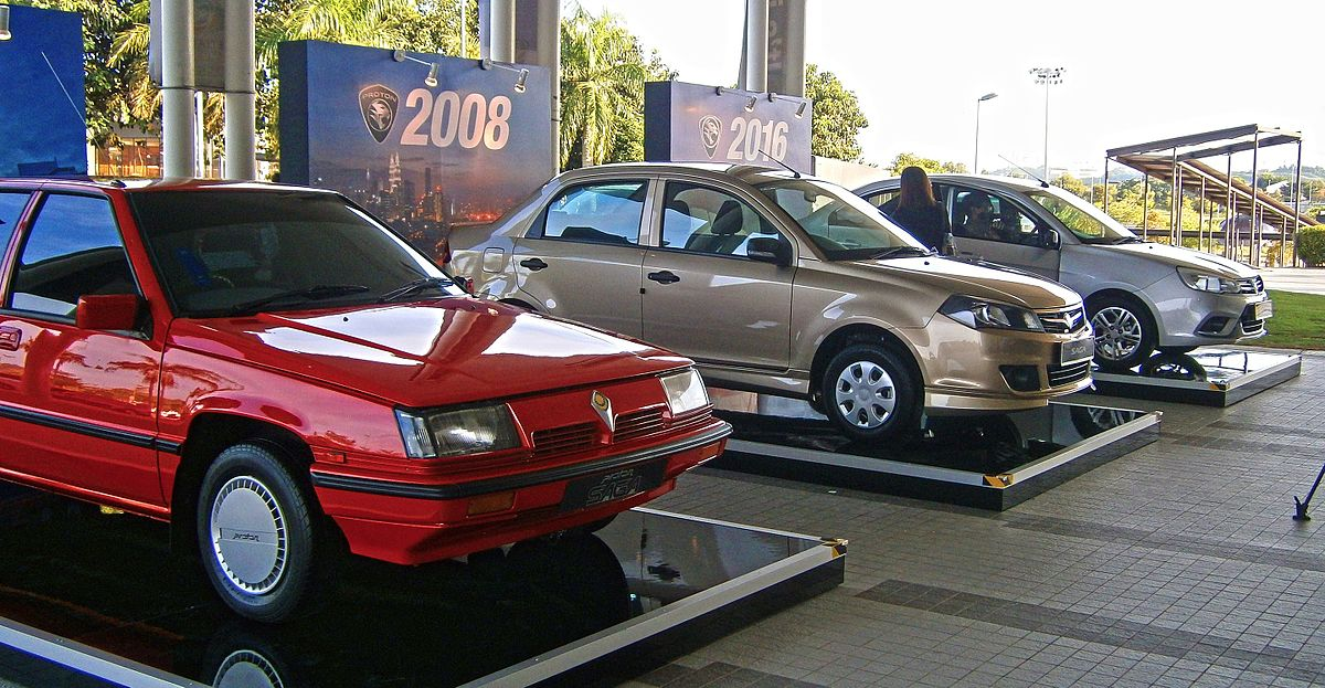 Proton Saga I 1985 - 2008 Hatchback 5 door #2