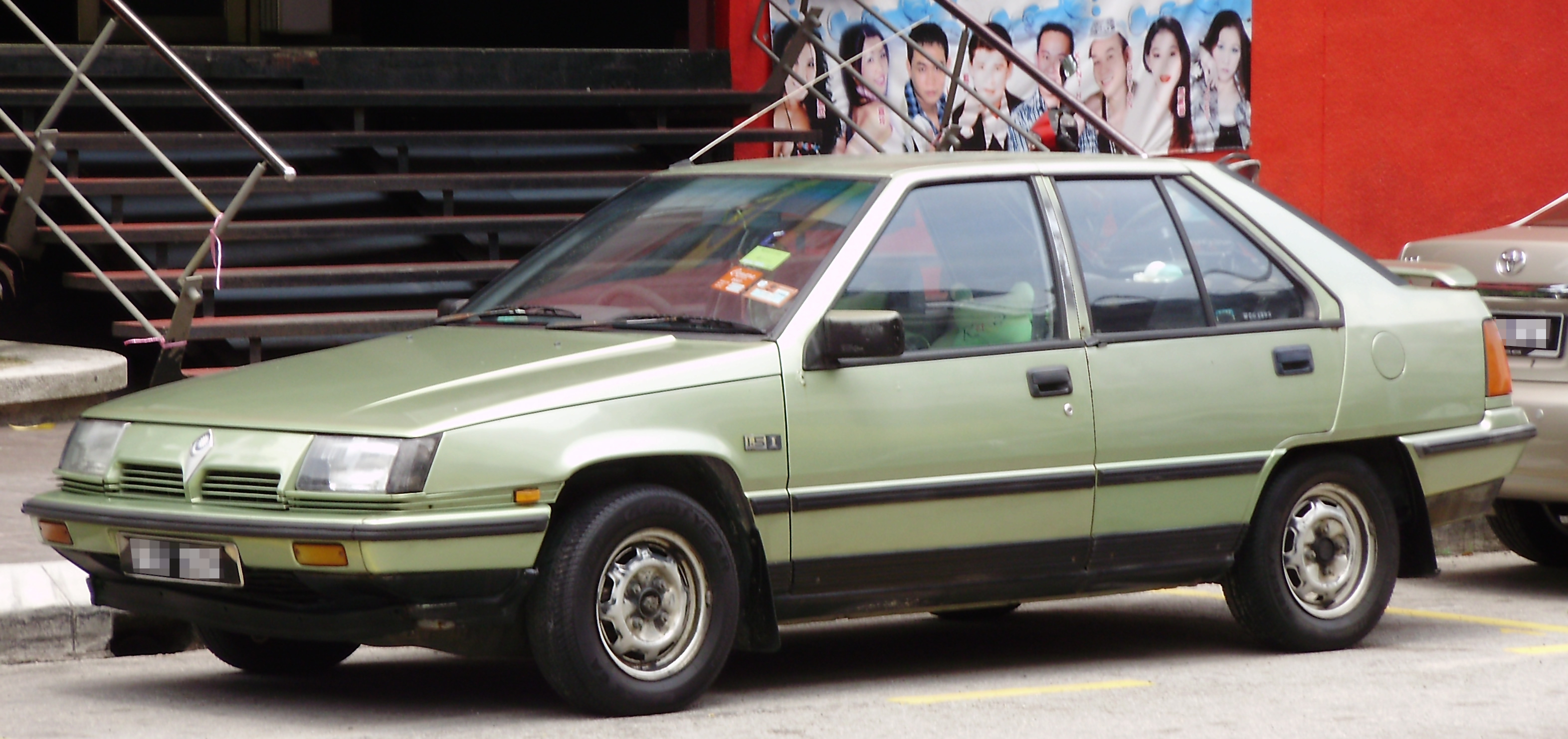 Proton Saga I 1985 - 2008 Hatchback 5 door #6