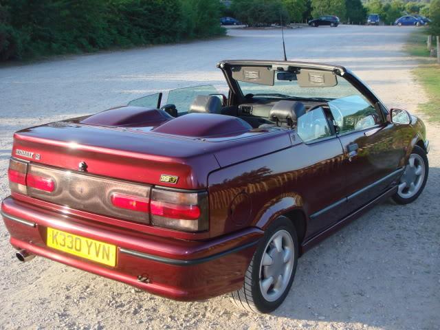 renault 19 ii 1992 2002 cabriolet outstanding cars. Black Bedroom Furniture Sets. Home Design Ideas