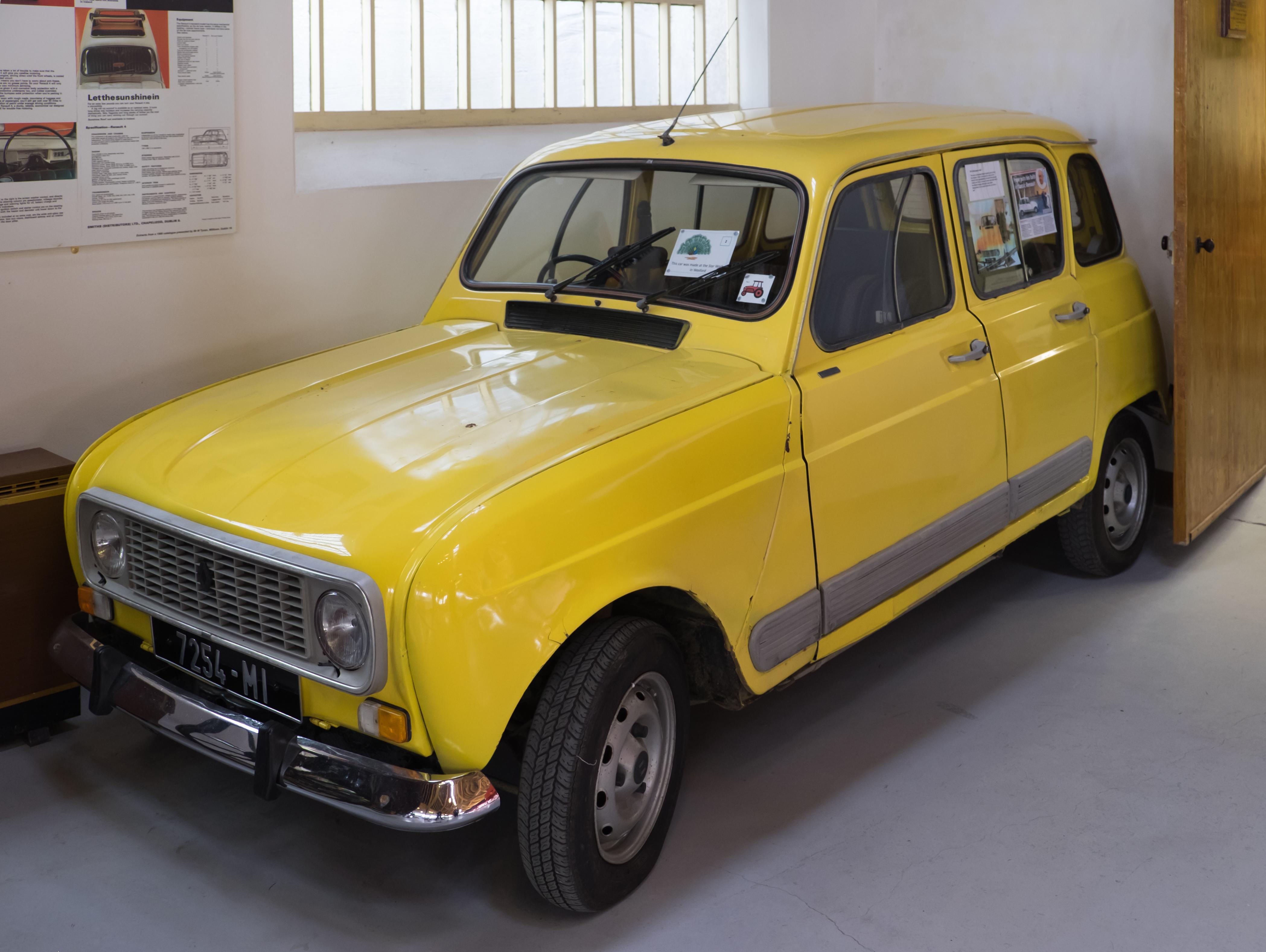Renault 4 1962 - 1991 Hatchback 5 door #4