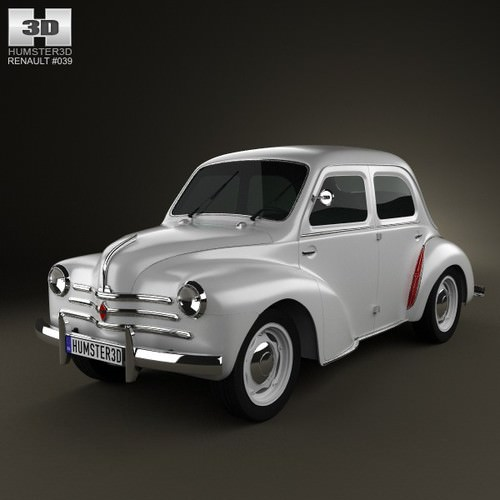 Renault 4CV 1947 - 1961 Sedan #7