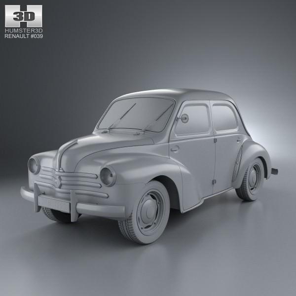 Renault 4CV 1947 - 1961 Sedan #6