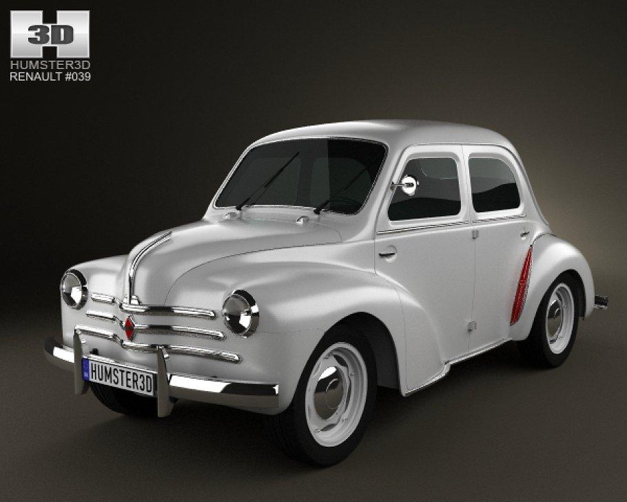 Renault 4CV 1947 - 1961 Sedan #8