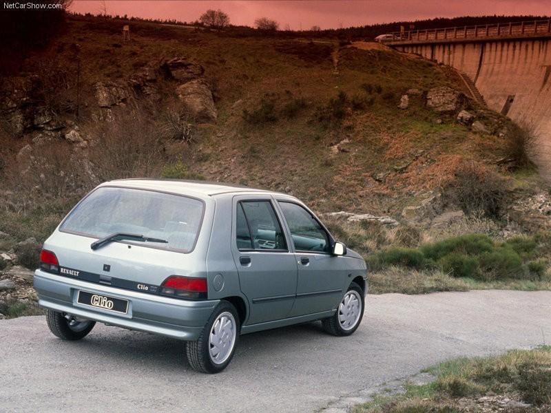 Renault Clio I 1990 - 1998 Hatchback 5 door #6