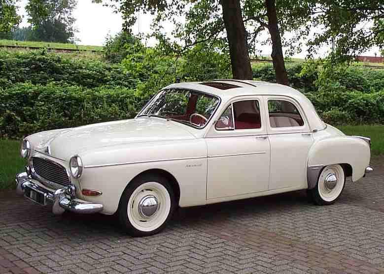 Renault Fregate 1951 - 1960 Cabriolet #7