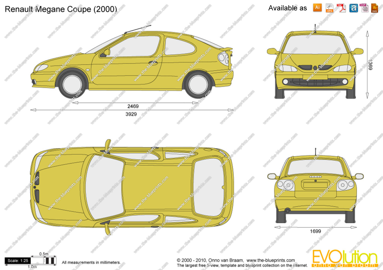 renault megane i 1995 1999 coupe outstanding cars. Black Bedroom Furniture Sets. Home Design Ideas
