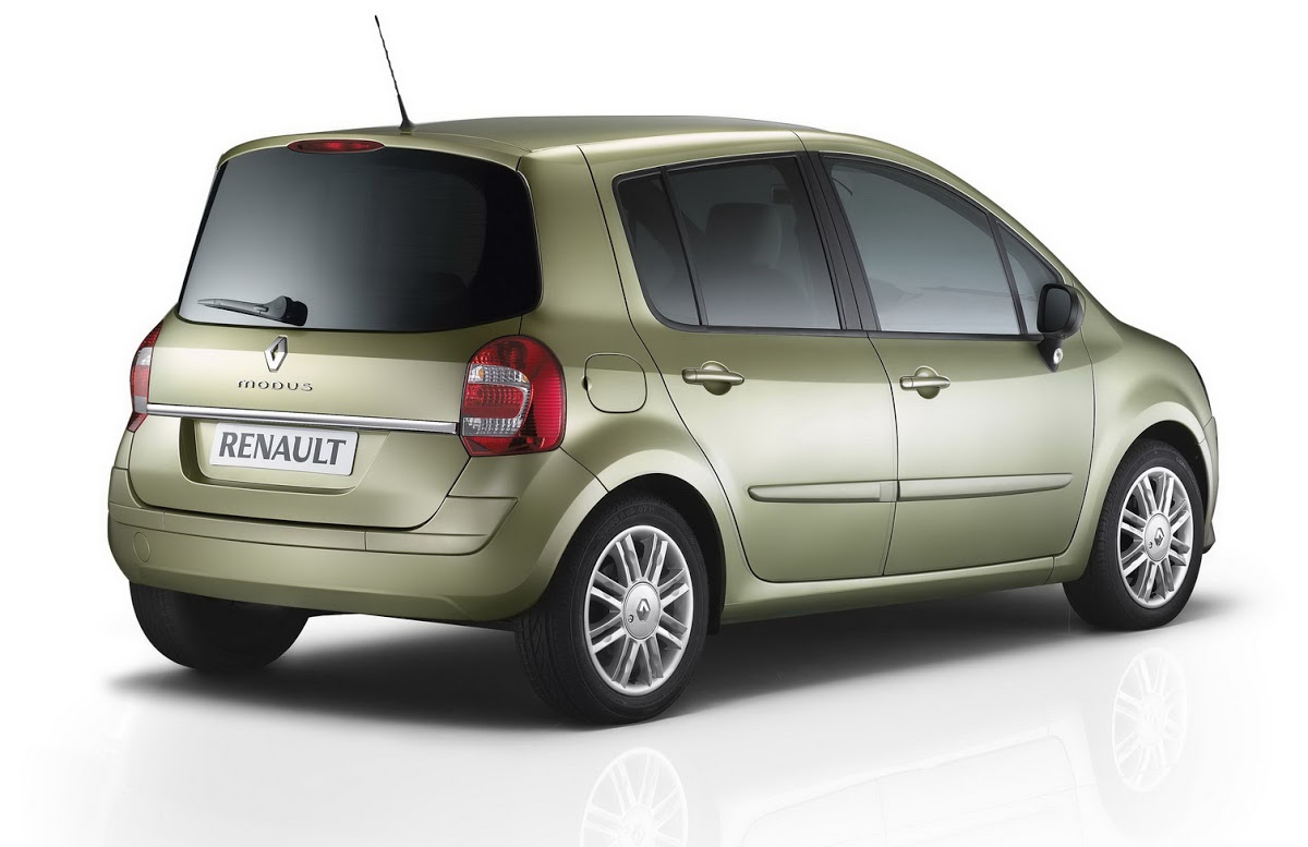 Renault Modus I Restyling 2007 - 2012 Compact MPV #1