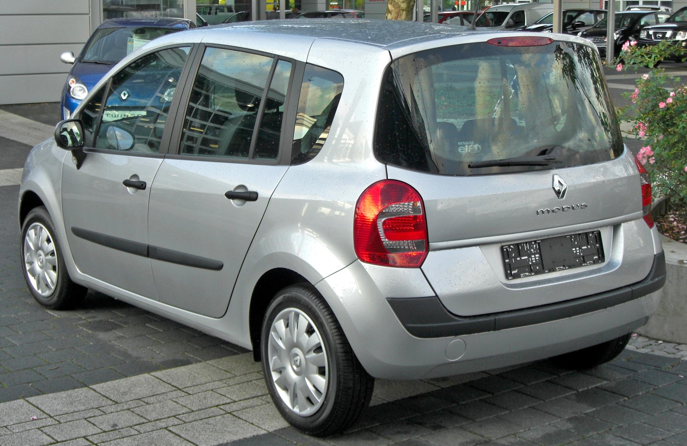 Renault Modus I Restyling 2007 - 2012 Compact MPV #6