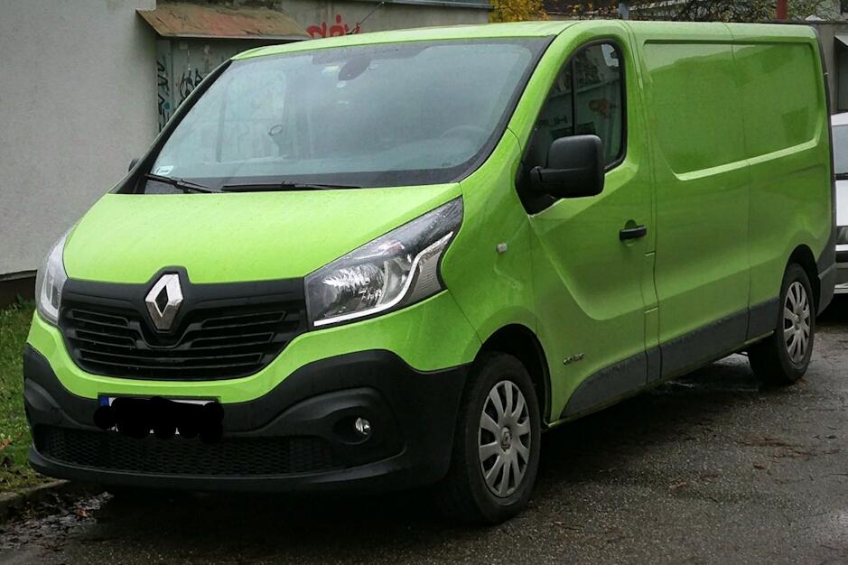 Renault Trafic III 2014 - now Minivan #6