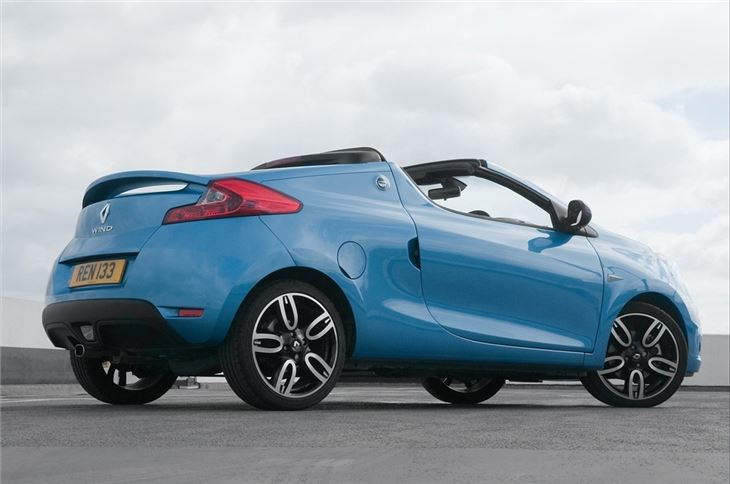 Renault Wind 2010 - 2013 Roadster #5