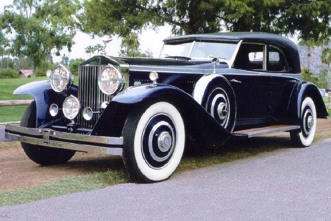 Rolls-Royce 20ት I 1929 - 1936 Cabriolet #6