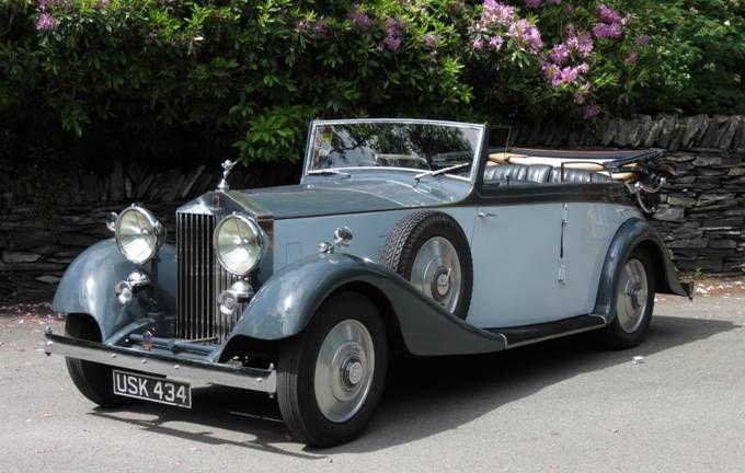 Rolls-Royce 20ት I 1929 - 1936 Cabriolet #7