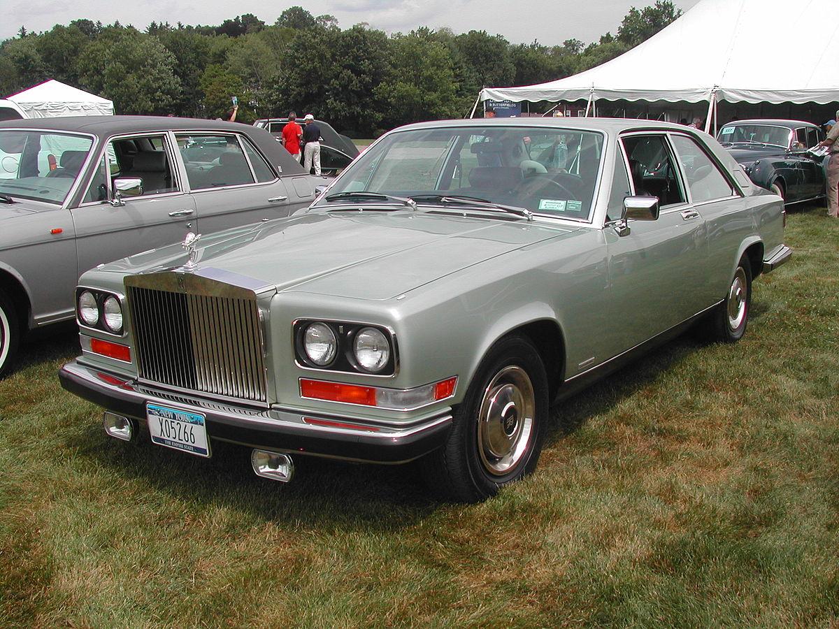 Rolls-Royce Camargue 1975 - 1986 Sedan 2 door #8