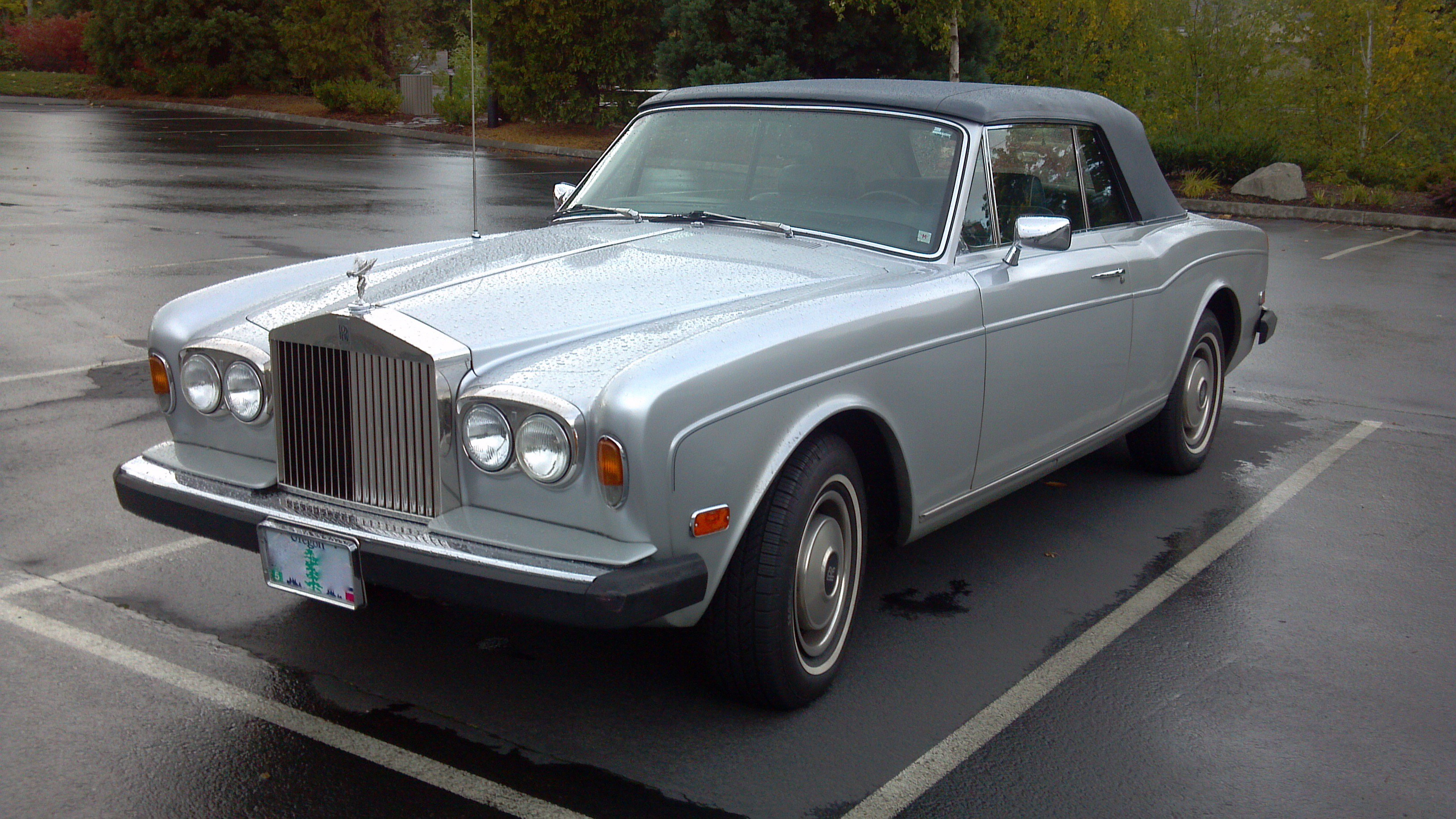 Rolls-Royce Corniche I - IV 1971 - 1995 Sedan 2 door #3