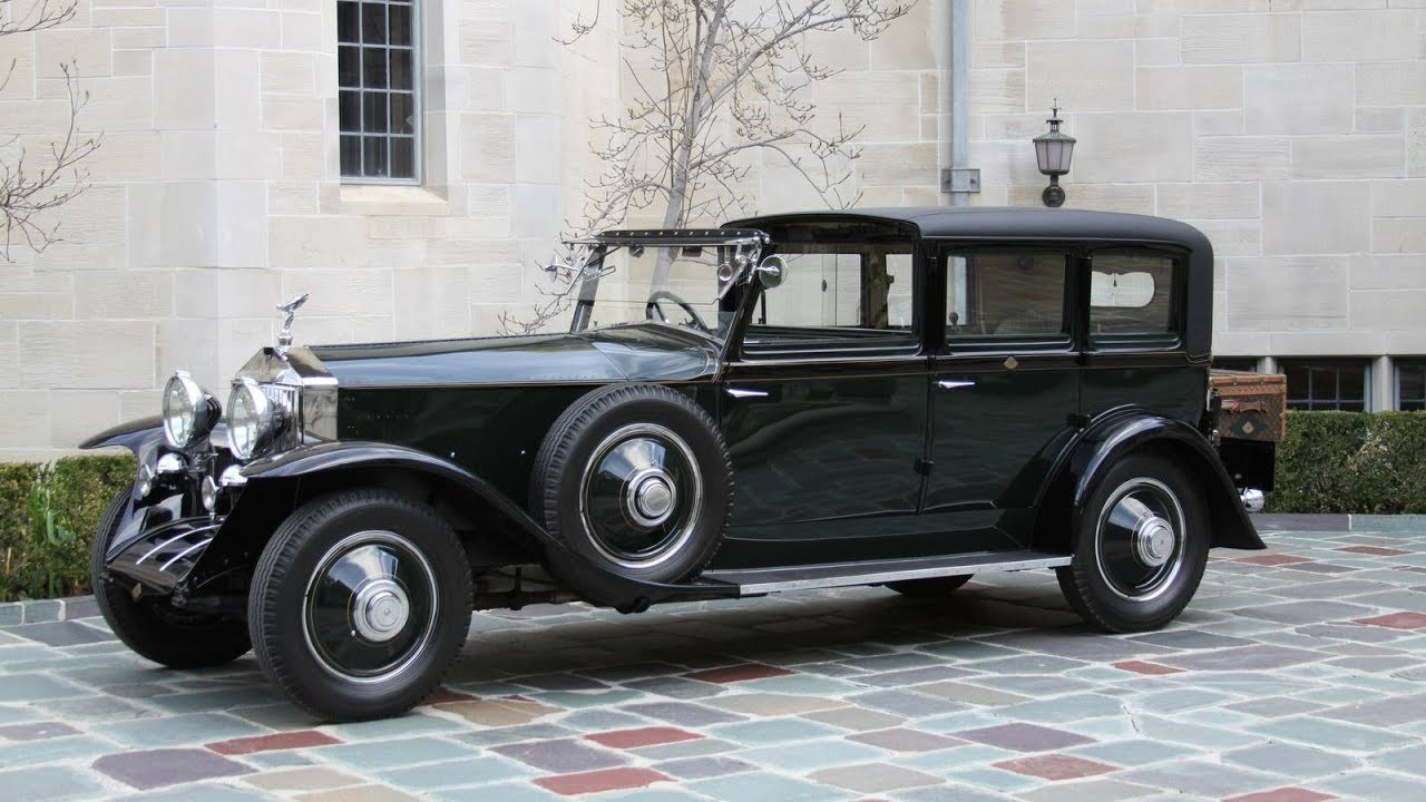 Rolls-Royce Phantom I 1925 - 1931 Sedan #2