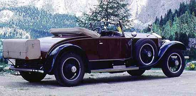 Rolls-Royce Phantom I 1925 - 1931 Sedan #7