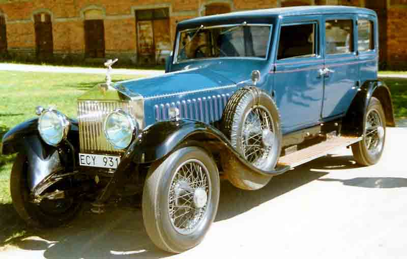 Rolls-Royce Phantom I 1925 - 1931 Sedan #8