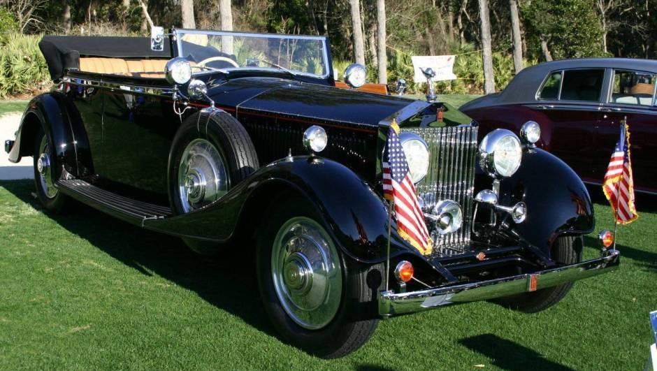 Rolls-Royce Phantom II 1929 - 1936 Sedan #6