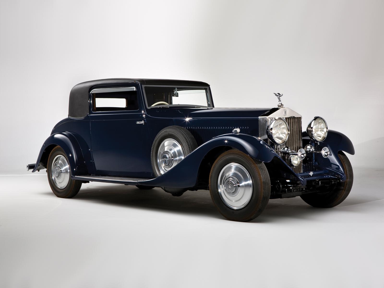 Rolls-Royce Phantom II 1929 - 1936 Sedan :: OUTSTANDING CARS