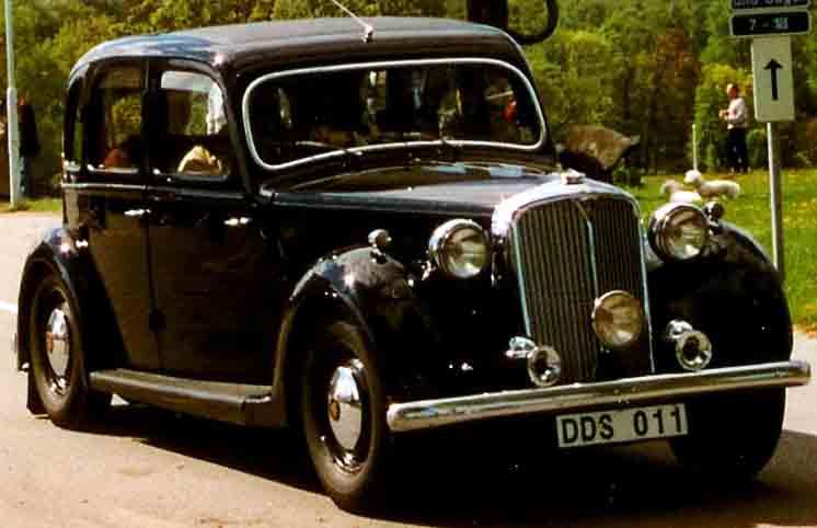 Rover P3 1948 - 1949 Sedan #8