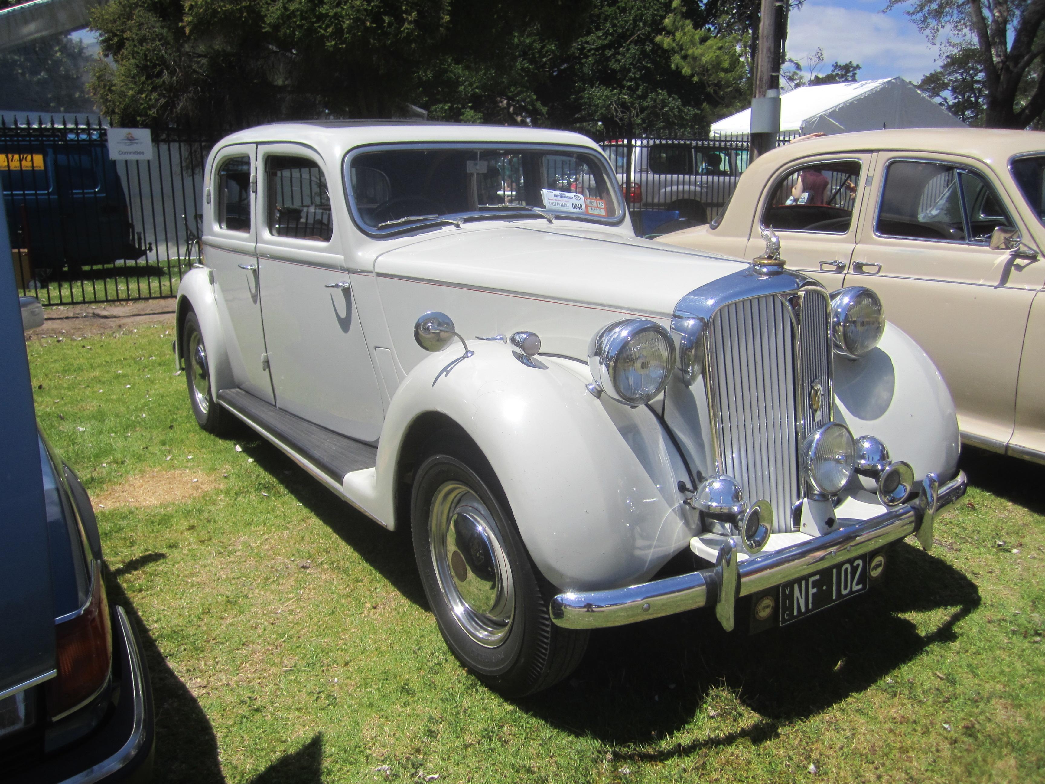 Rover P3 1948 - 1949 Sedan #1