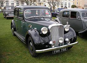 Rover P3 1948 - 1949 Sedan #2