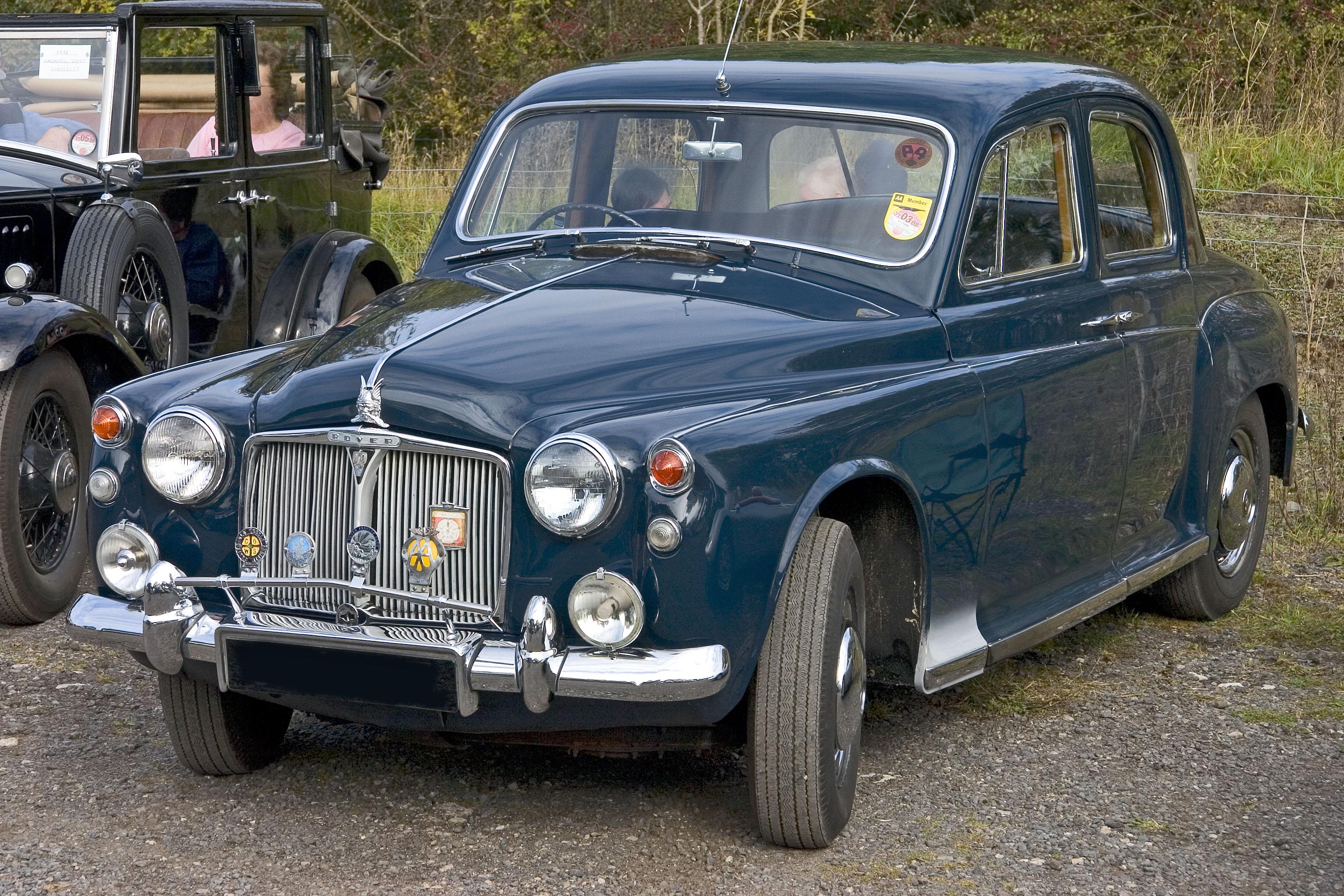 Rover P4 1949 - 1964 Sedan #3