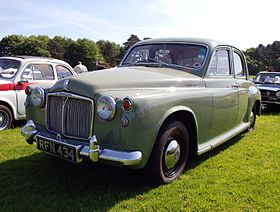 Rover P4 1949 - 1964 Sedan #2