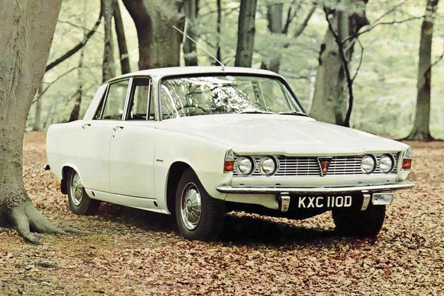 Rover P6 1963 - 1977 Sedan #5