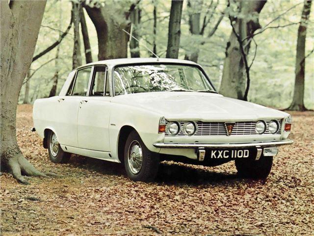 Rover P6 1963 - 1977 Sedan #3