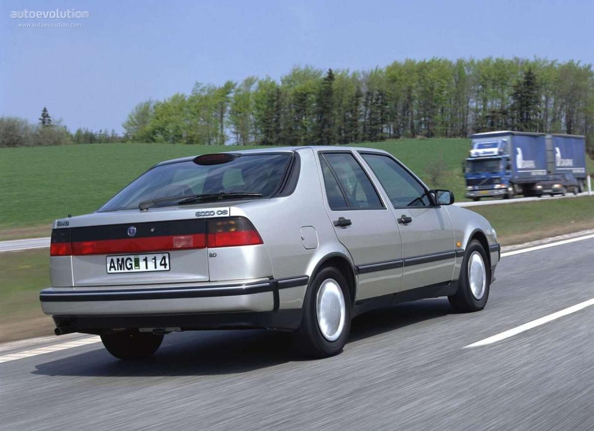 Saab 9000 1991 - 1998 Liftback #4