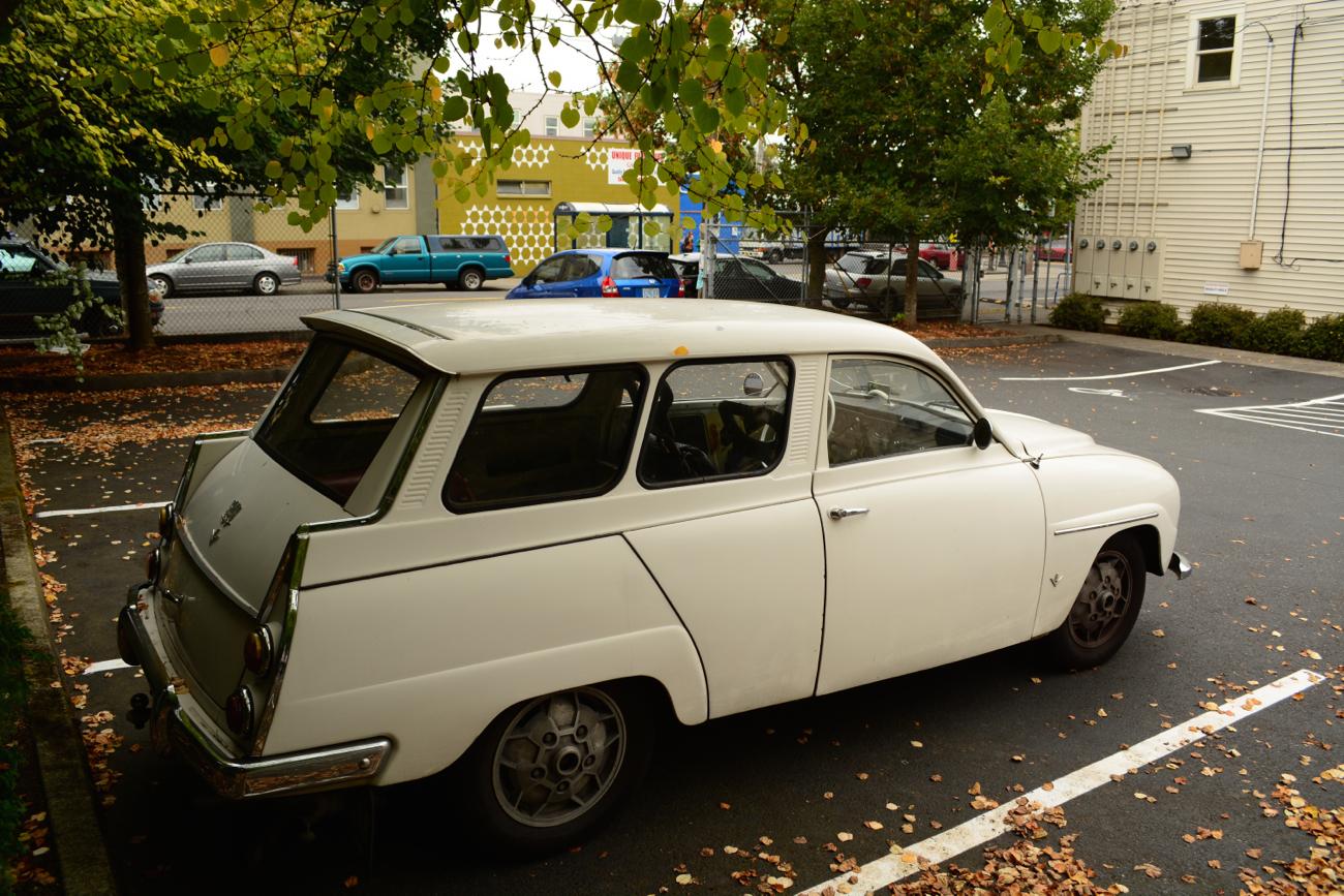 Saab 95 1959 - 1978 Station wagon 3 door :: OUTSTANDING CARS