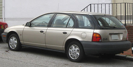 Saturn SW II 1996 - 1999 Station wagon 5 door #5