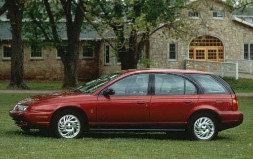 Saturn SW II 1996 - 1999 Station wagon 5 door #2