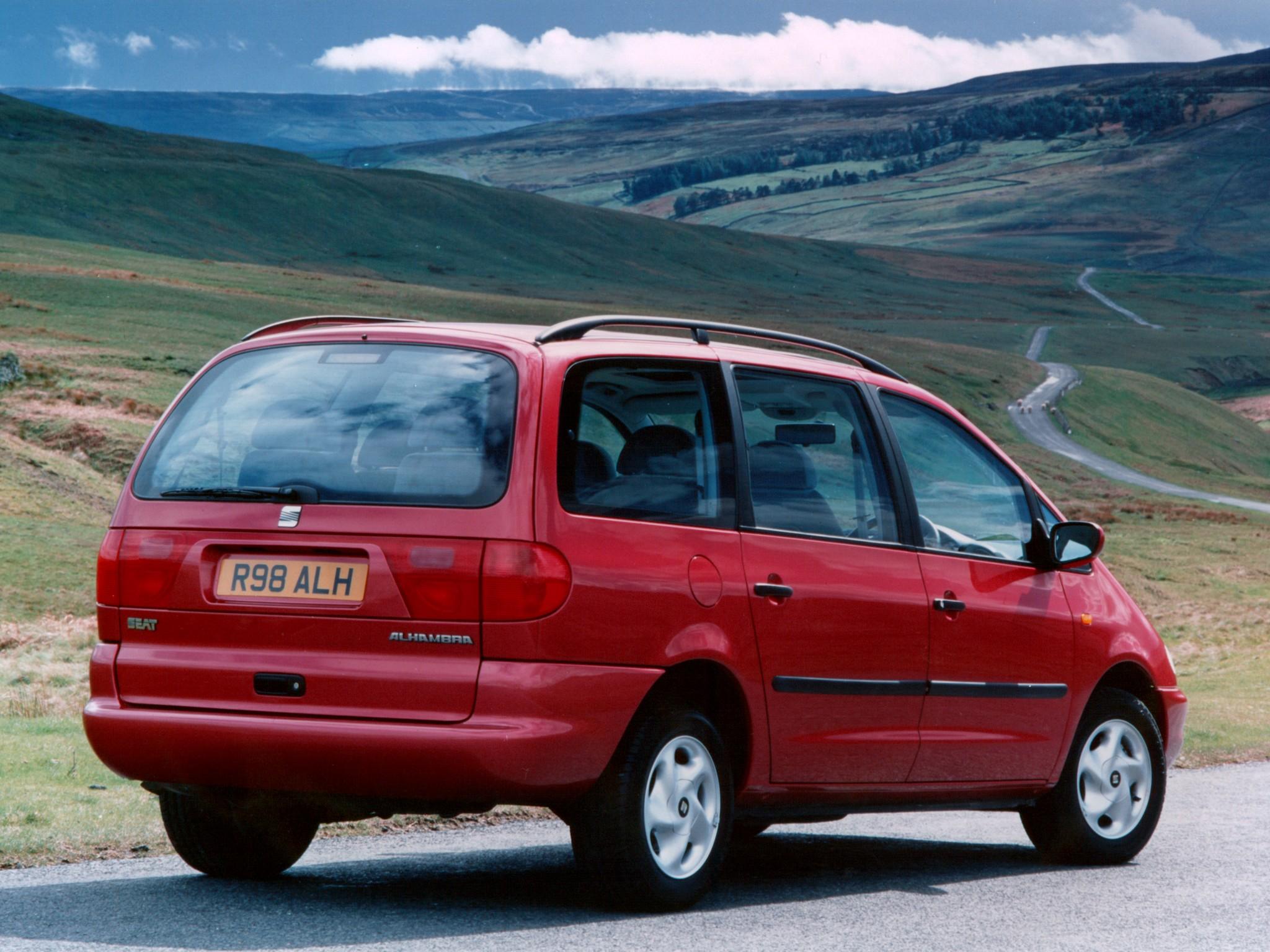 SEAT Alhambra I 1996 - 2000 Minivan #2