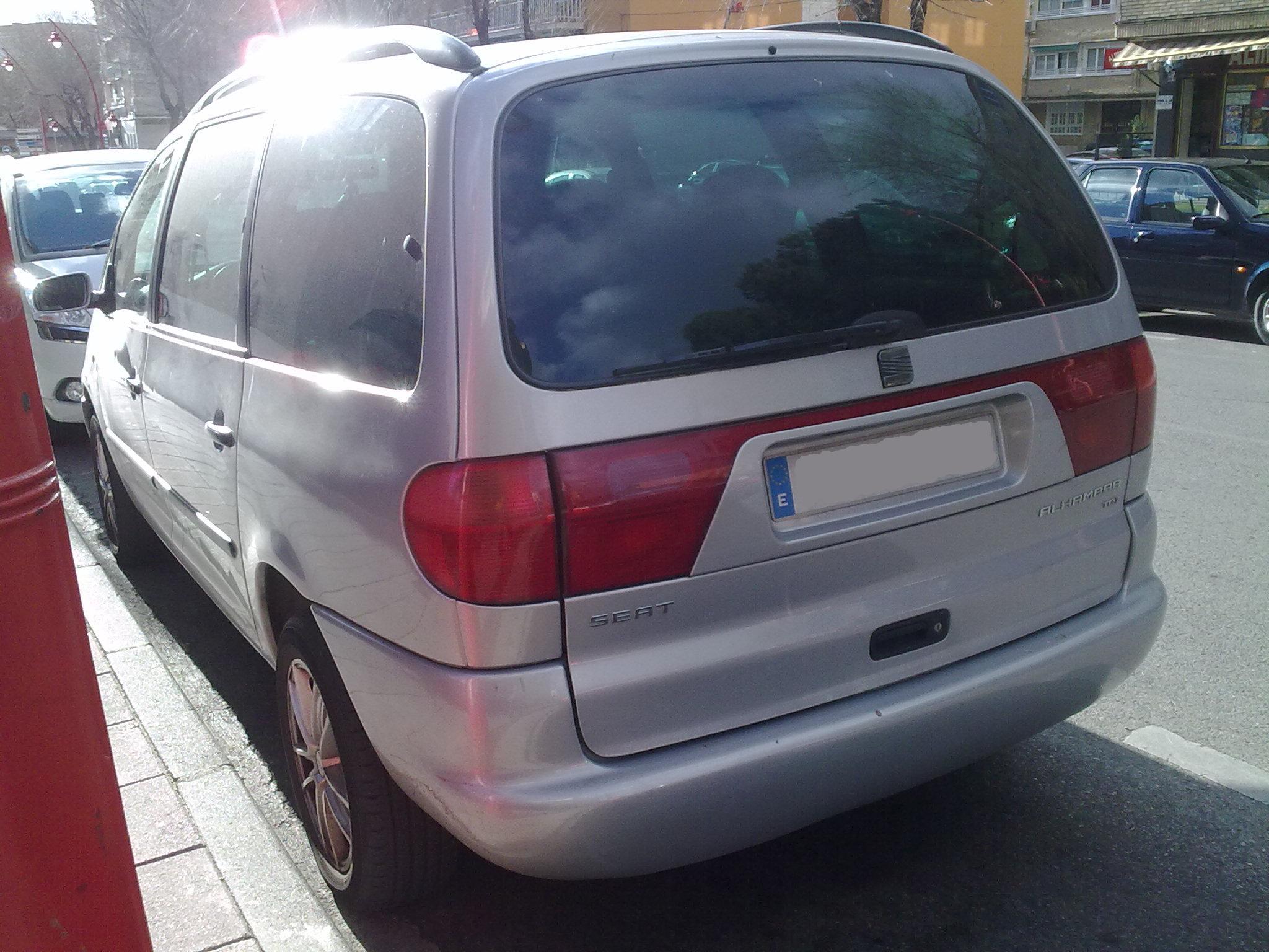 SEAT Alhambra I 1996 - 2000 Minivan #1