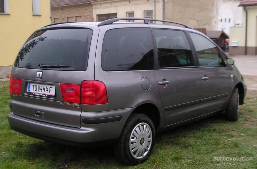 SEAT Alhambra I 1996 - 2000 Minivan #3