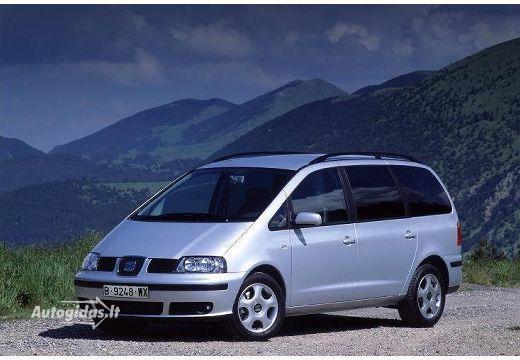 SEAT Alhambra I Restyling 2000 - 2010 Minivan #4