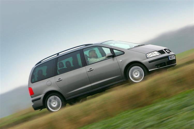 SEAT Alhambra I Restyling 2000 - 2010 Minivan #1