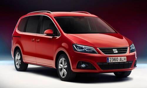 SEAT Alhambra II 2010 - 2015 Minivan #4