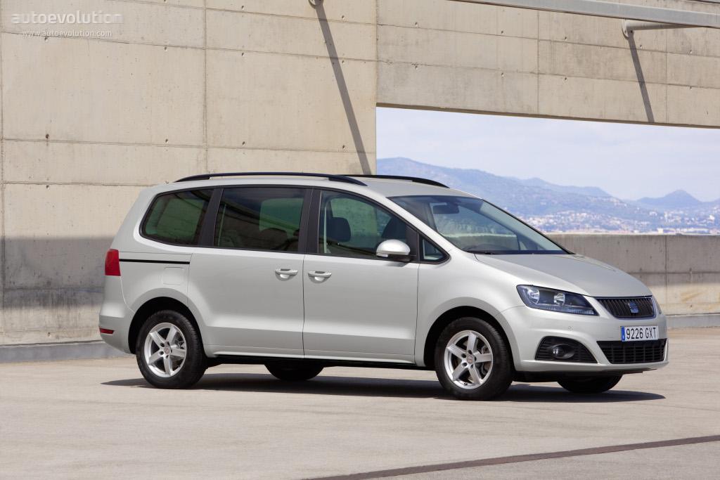 SEAT Alhambra II 2010 - 2015 Minivan #7