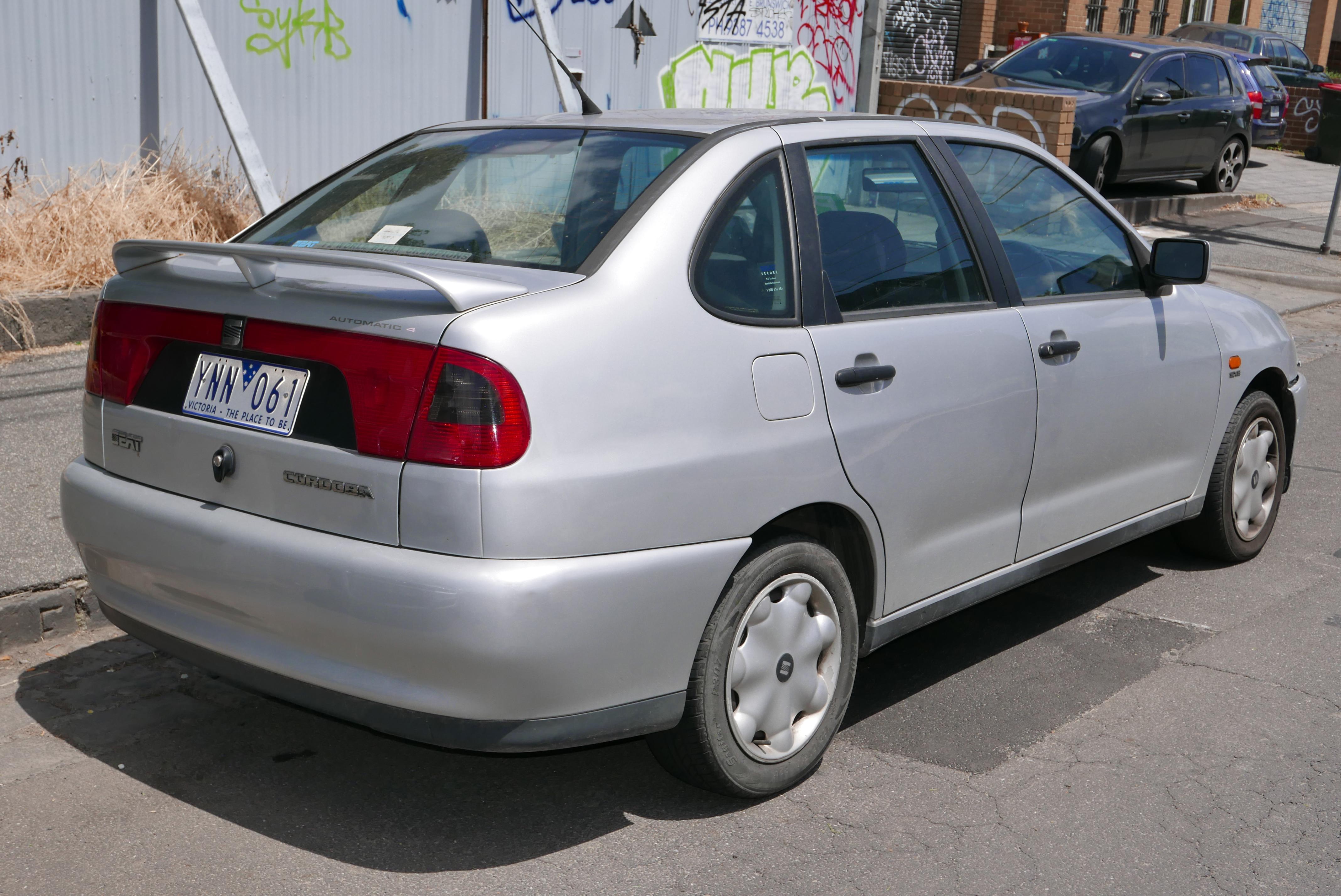 SEAT Cordoba I Restyling 1999 - 2002 Coupe #3