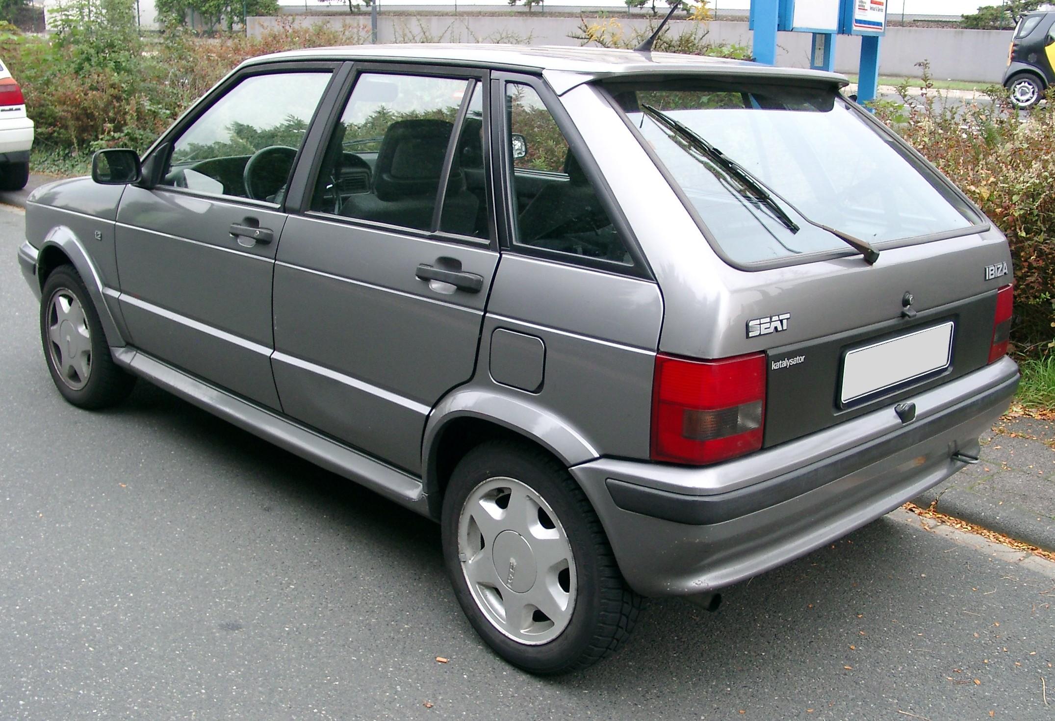 SEAT Ibiza I 1985 - 1993 Hatchback 3 door #1