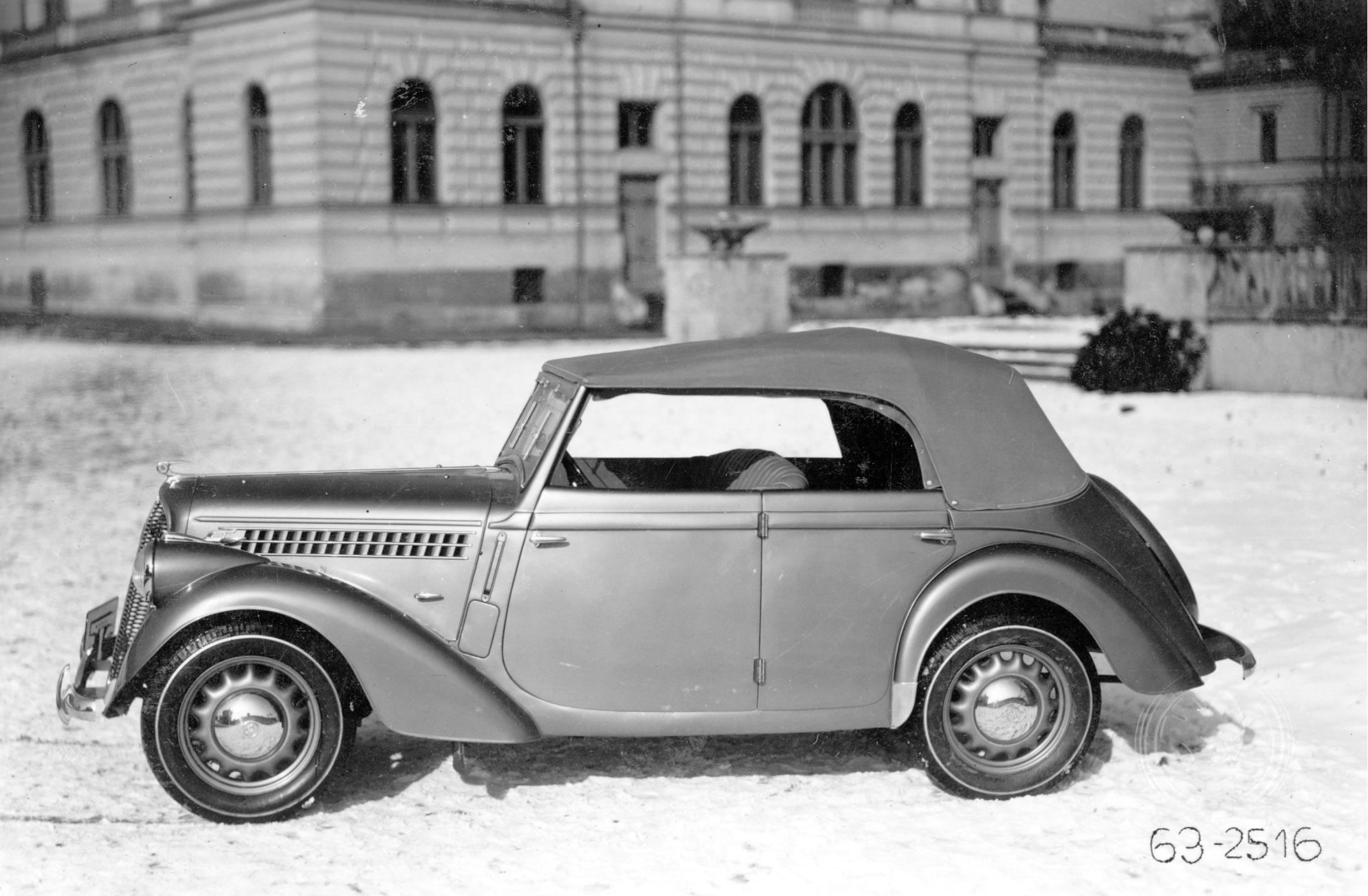 Skoda 1200 I 1952 - 1973 Sedan #2