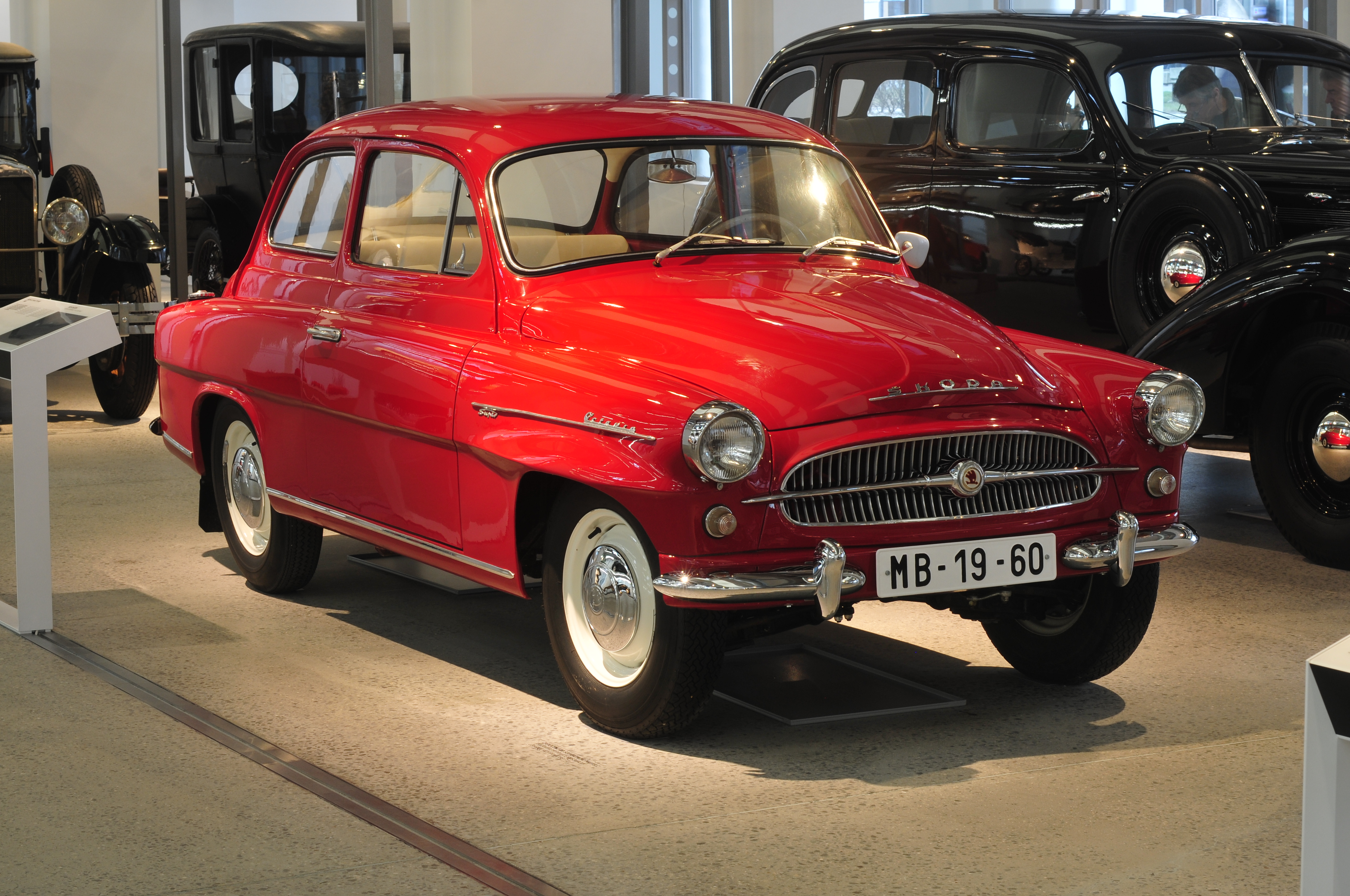 Skoda 1200 I 1952 - 1973 Sedan #4