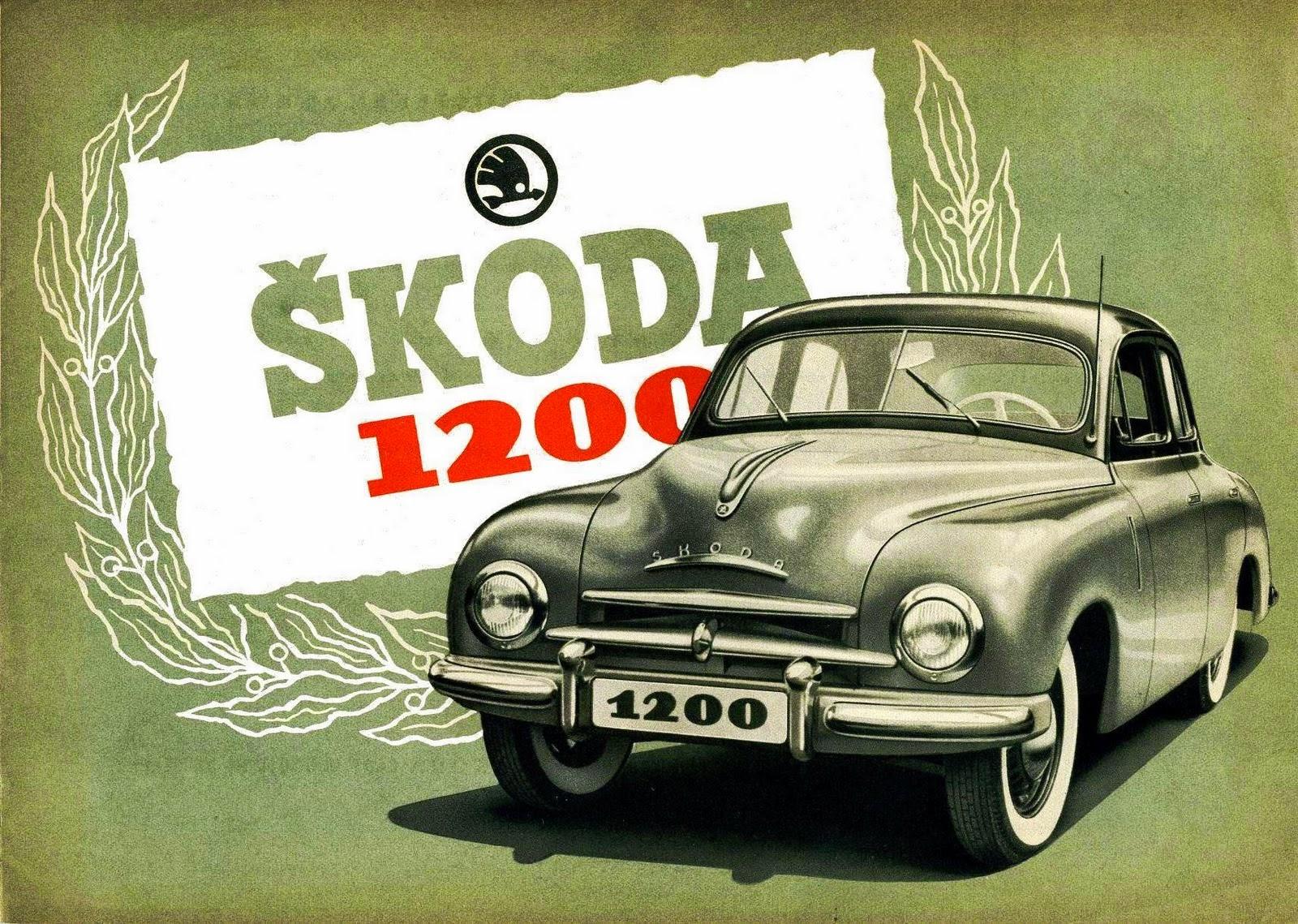 Skoda 1200 I 1952 - 1973 Sedan #6
